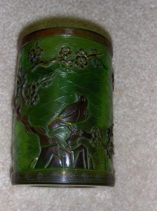 antique Chinese super quality Peking class pen pot