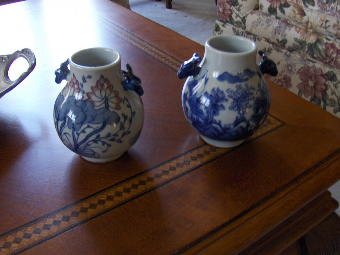 Chinese a pair of antique vases