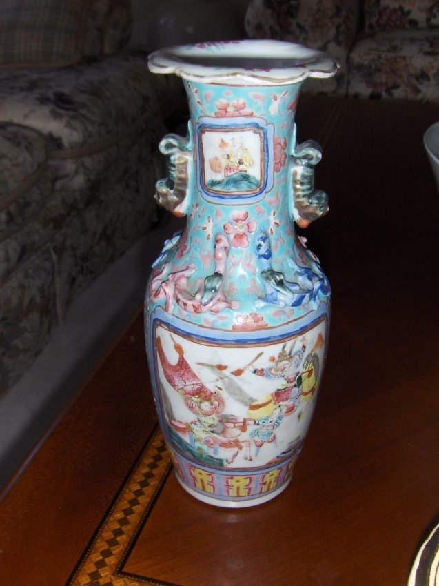 Antique Chinese vase, 19th century - 2