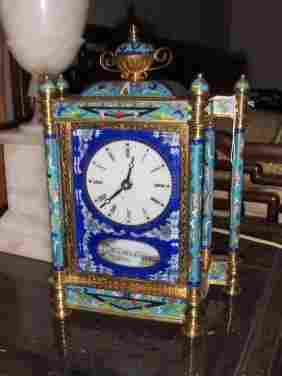 Chinese export clock. Very nice deco and collectiable