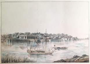 Thomas Daniell, View from Lucknow