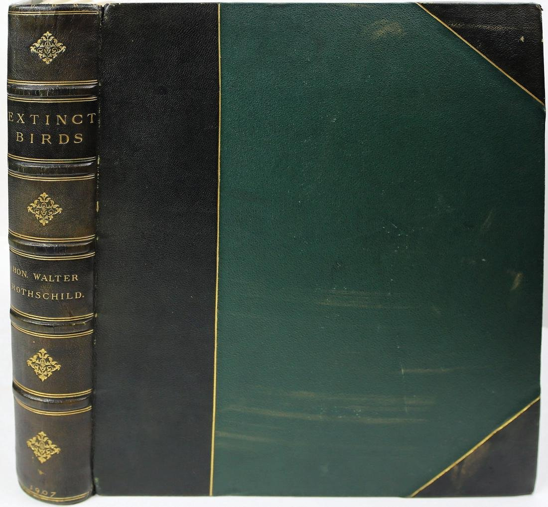 Extinct Birds, Rothschild, Rare Book
