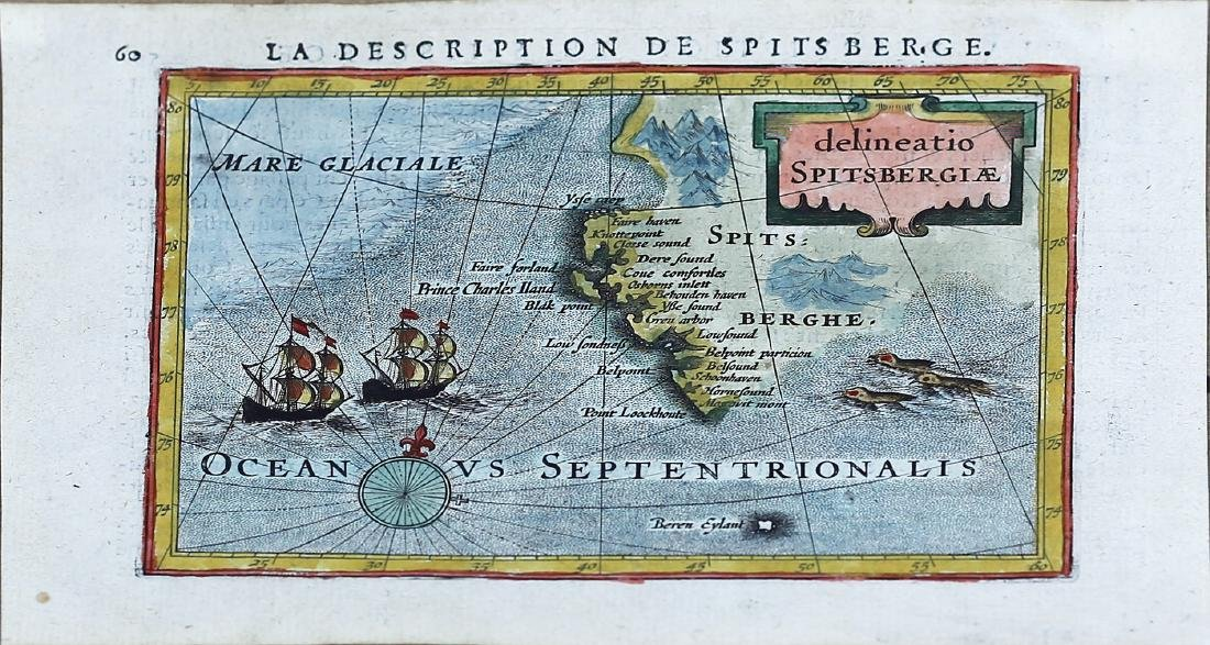 Bertius, Map of Spitsberg
