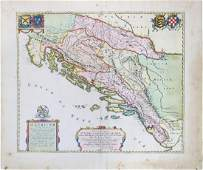 Blaeu Map of the Balkans
