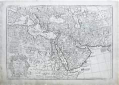 De Lisle Map of Arabia