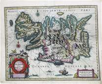 Blaeu, Map of Iceland
