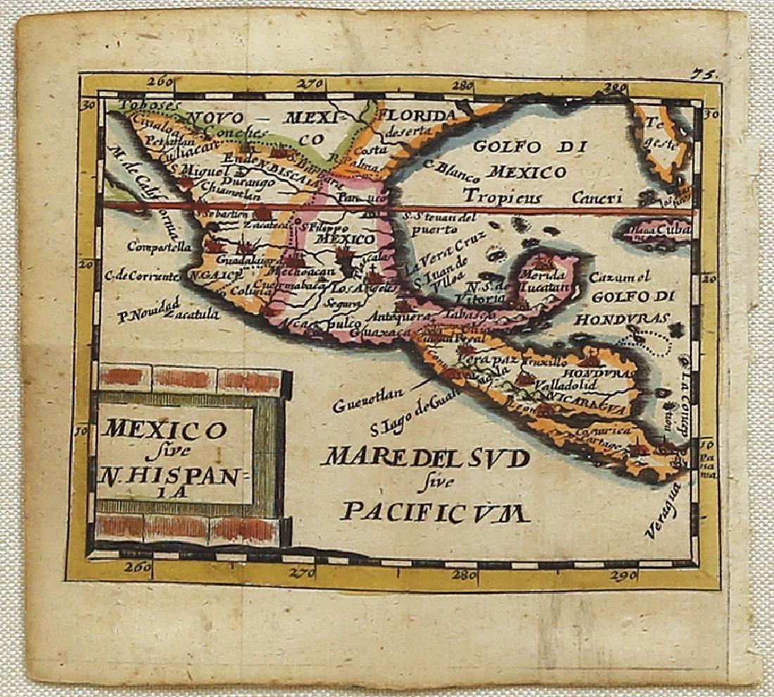 Mexico sive N. Hispania Duval Map
