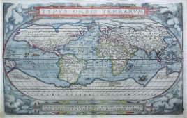 Ortelius Map of the World