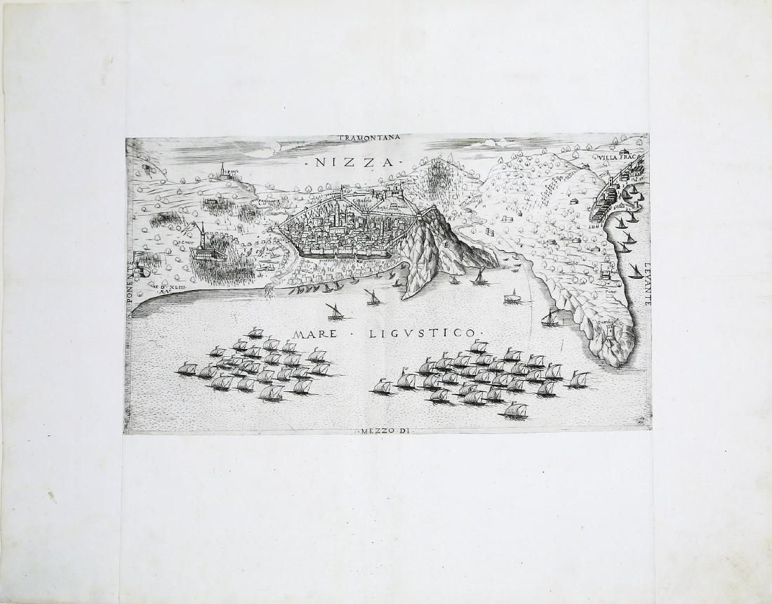 View of Franco-Ottoman Siege of Nice in 1543