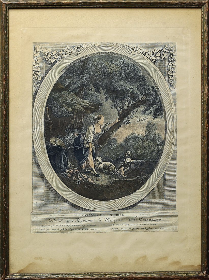Two Engravings after Boucher