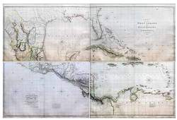 Arrowsmith Map of West Indies