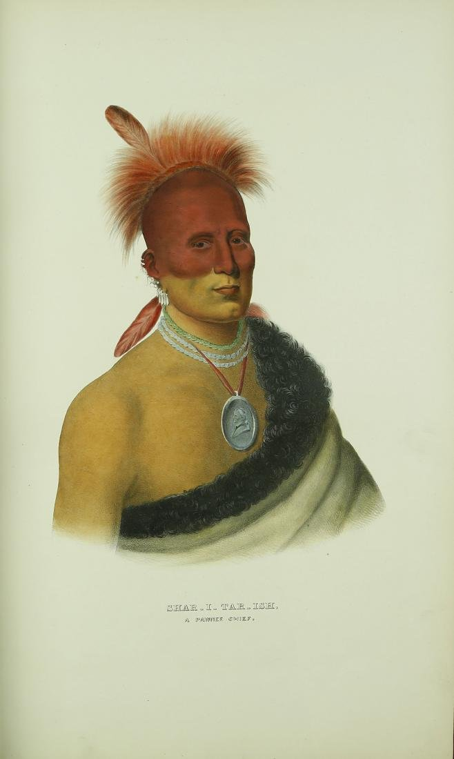 McKenney and Hall History of the Indian Tribes of North