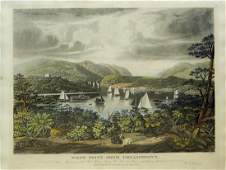 Bennett engraving of West Point