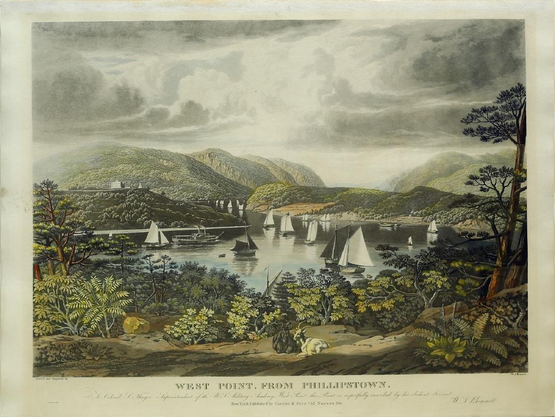 Bennett engraving of West Point