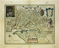 Blaeu Map of Virginia