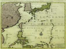 Four Part Map of East Asia