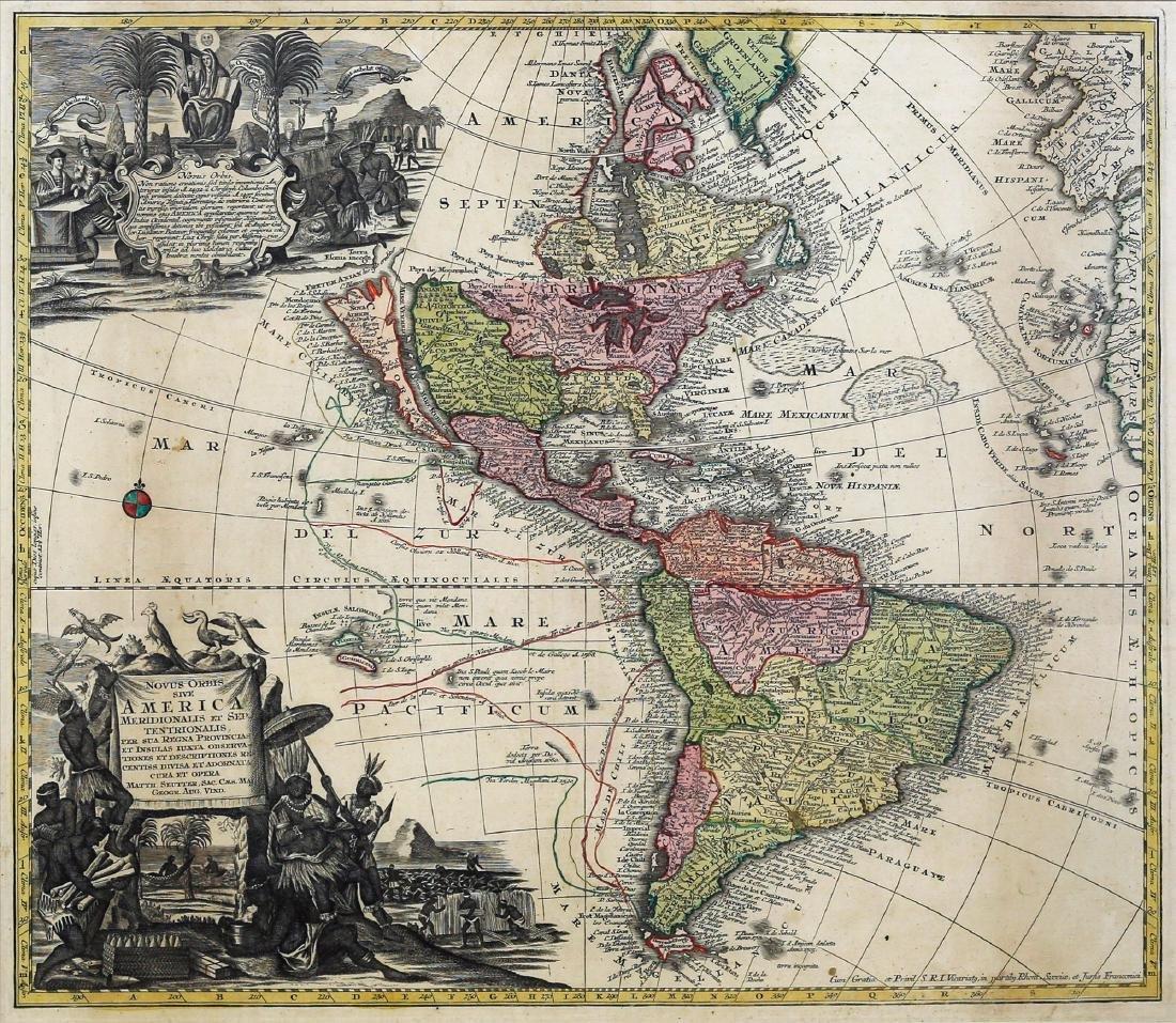 Seutter World Map