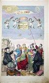 Cellarius's Harmonia Macrocosmica in Original Color