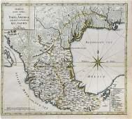 Fleischer Engraved Map of the Gulf Coast