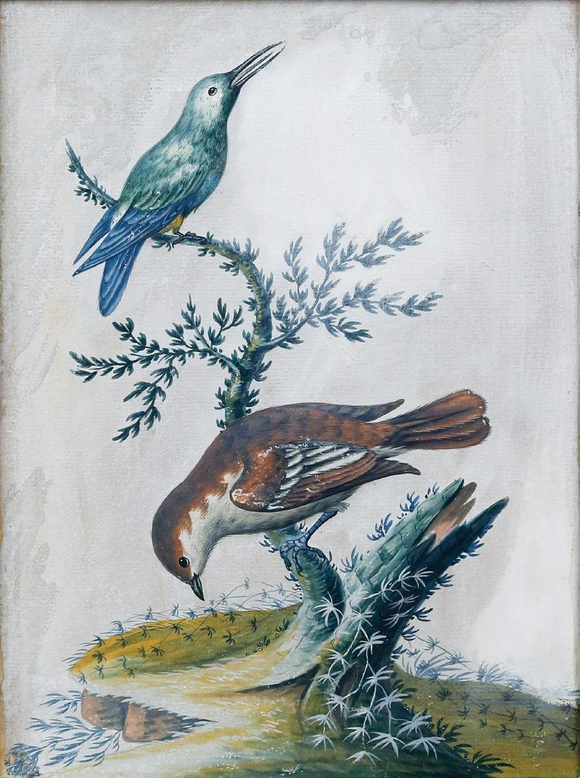 Isaac Spackman Basso-Relievo Watercolors