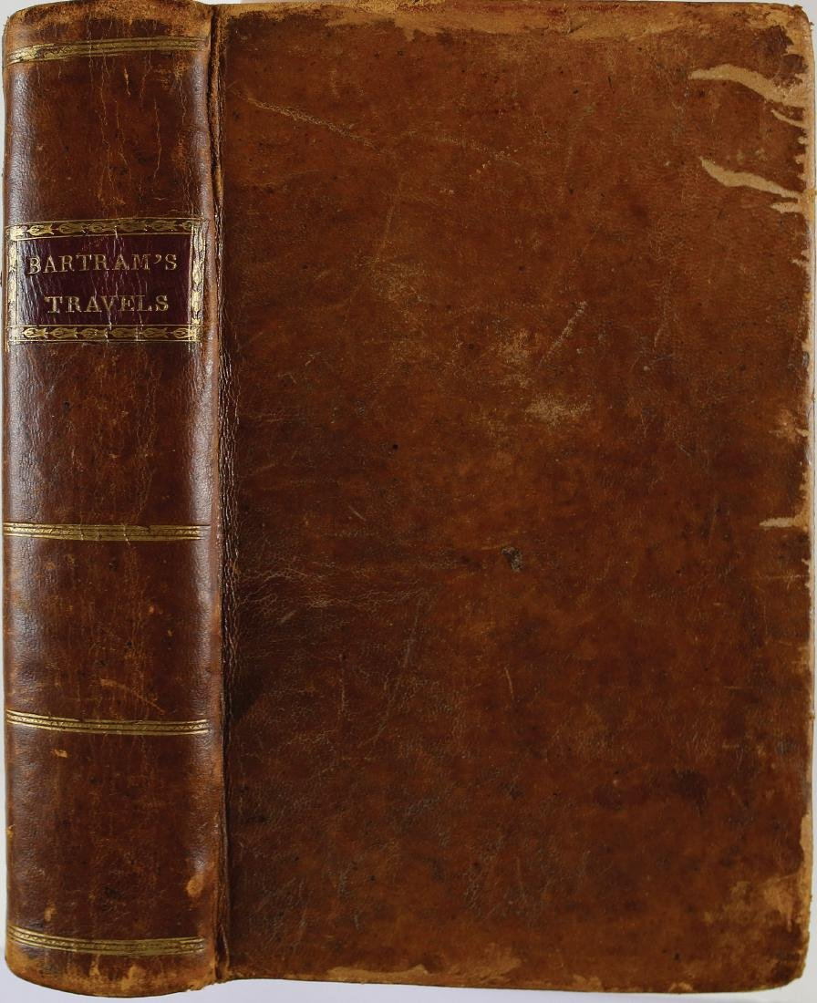 Bartram's Travels First Edition with rare Provenance