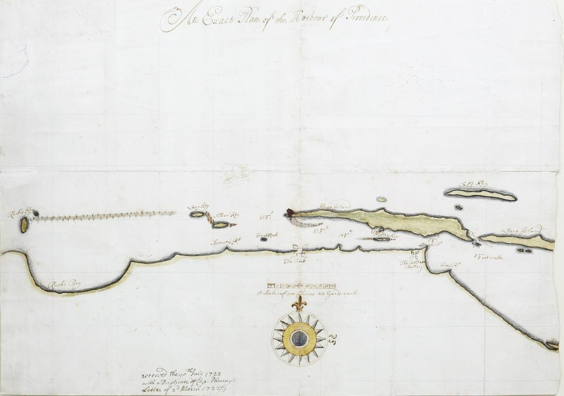 Exact Plan of the Harbour of Providence
