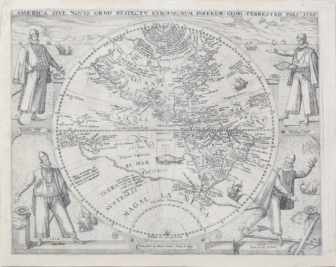 De Bry Map of America