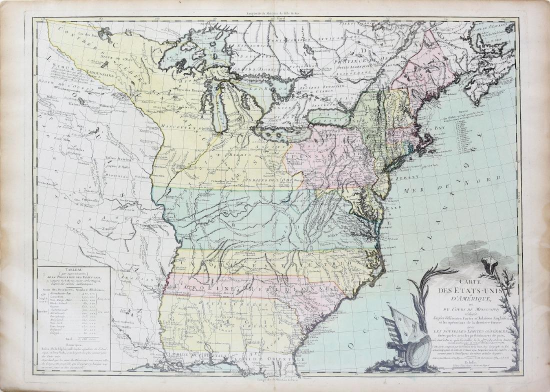 De La Tour Map of United States