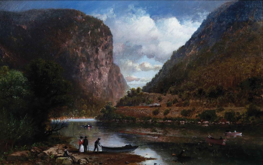 Perkins Landscape Oil Painting