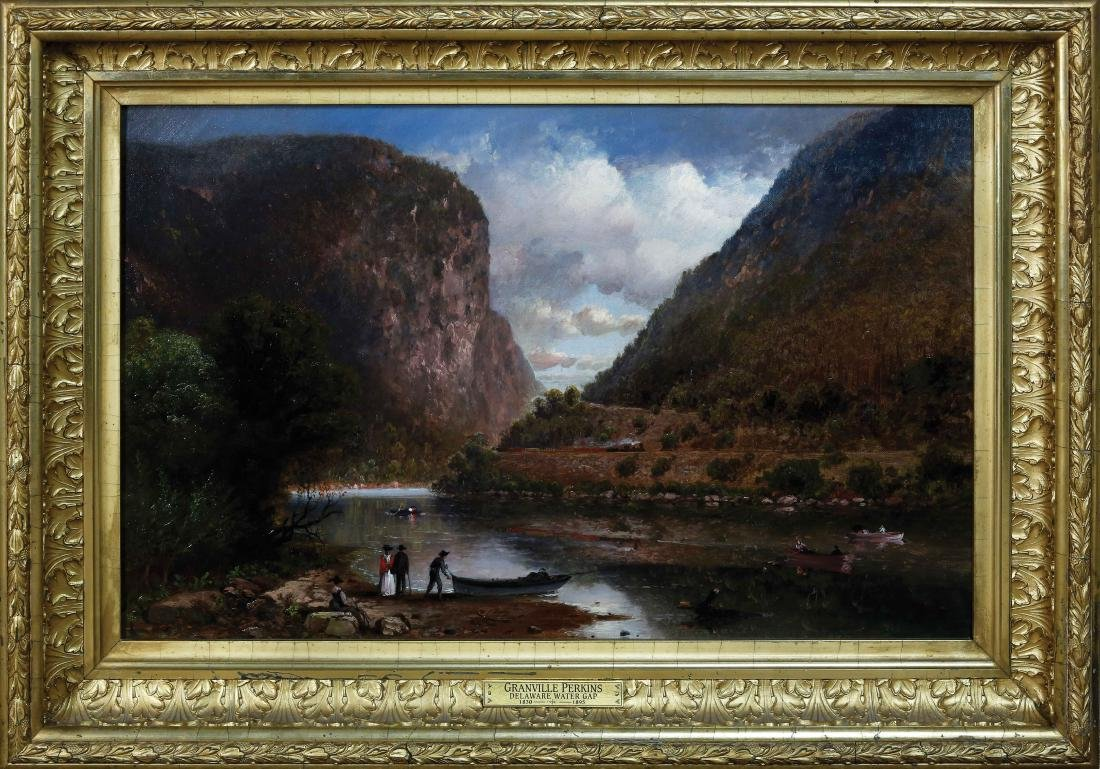 Perkins Landscape Oil Painting - 2