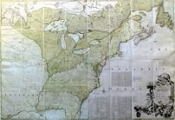 Mitchell Map of North America, 1755