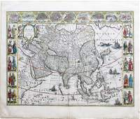 Bleau Map of Asia