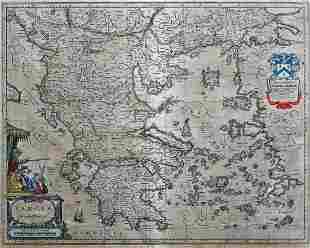 Blaeu Map of Greece