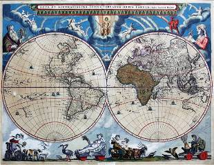Blaeu World Map