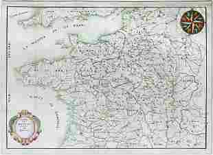 Manuscript Map of France