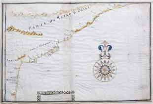 Portolan Map of Indian Coast