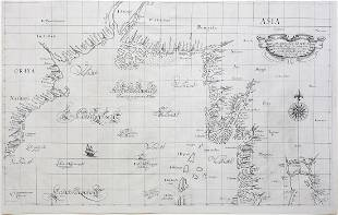 Dudley Map of Bay of Bengal