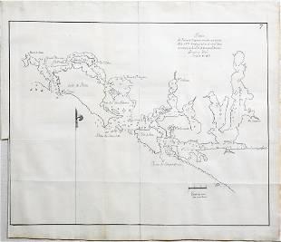 Manuscript Chart of Vancouver, Canada (Nootka)