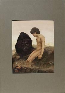 Jungle Book 1st Ed. Illustrations