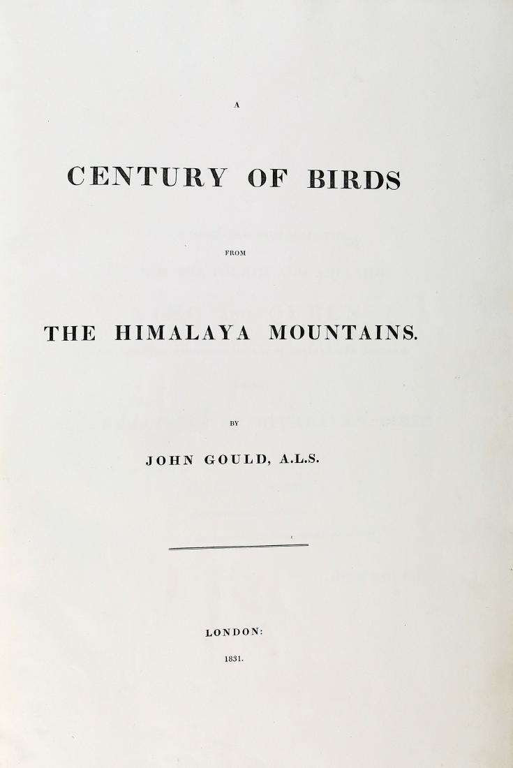 Gould Birds of Himalaya, 1st Ed. - 6
