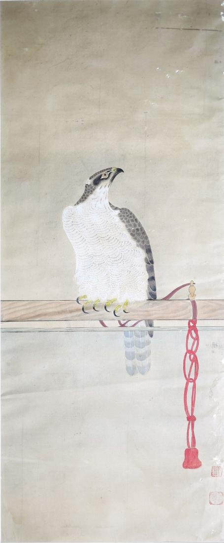Japanese Falcon Watercolor