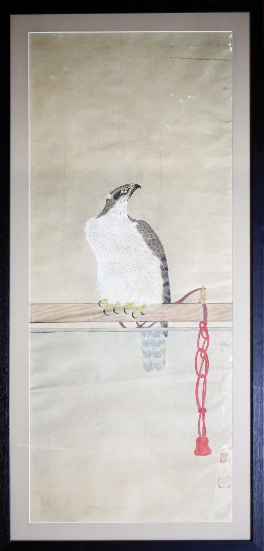 Japanese Falcon Watercolor - 2