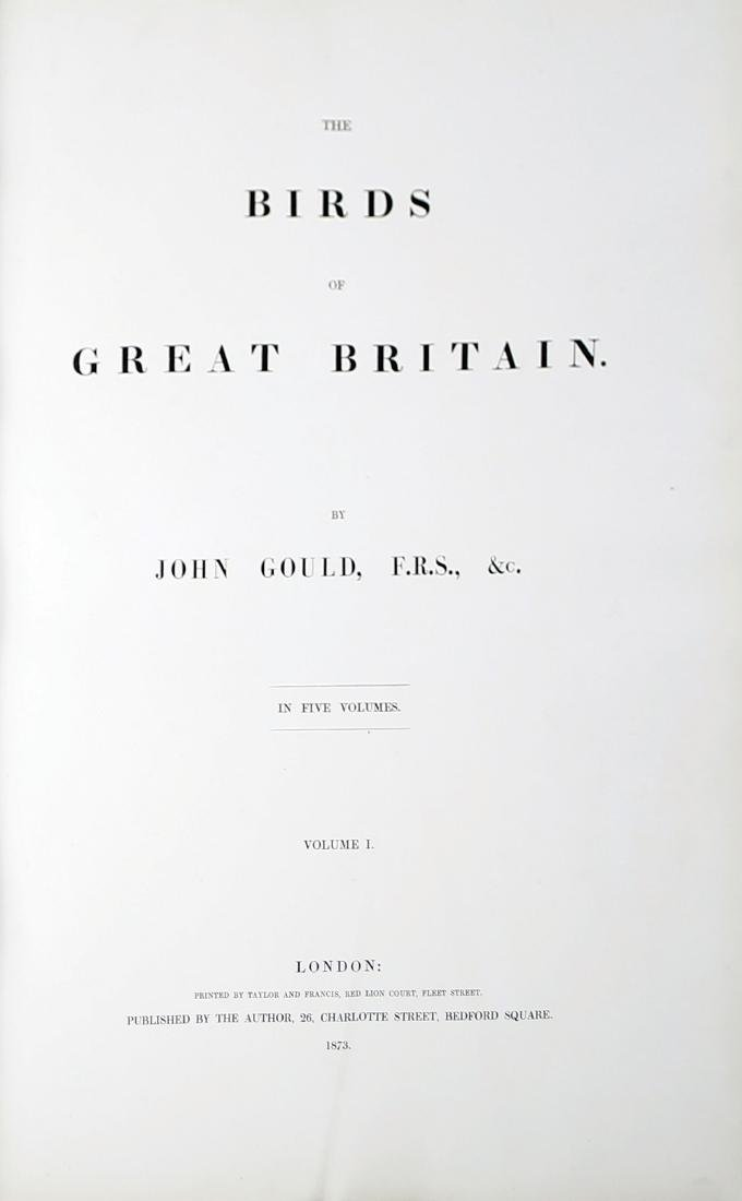Gould Birds of Great Britain