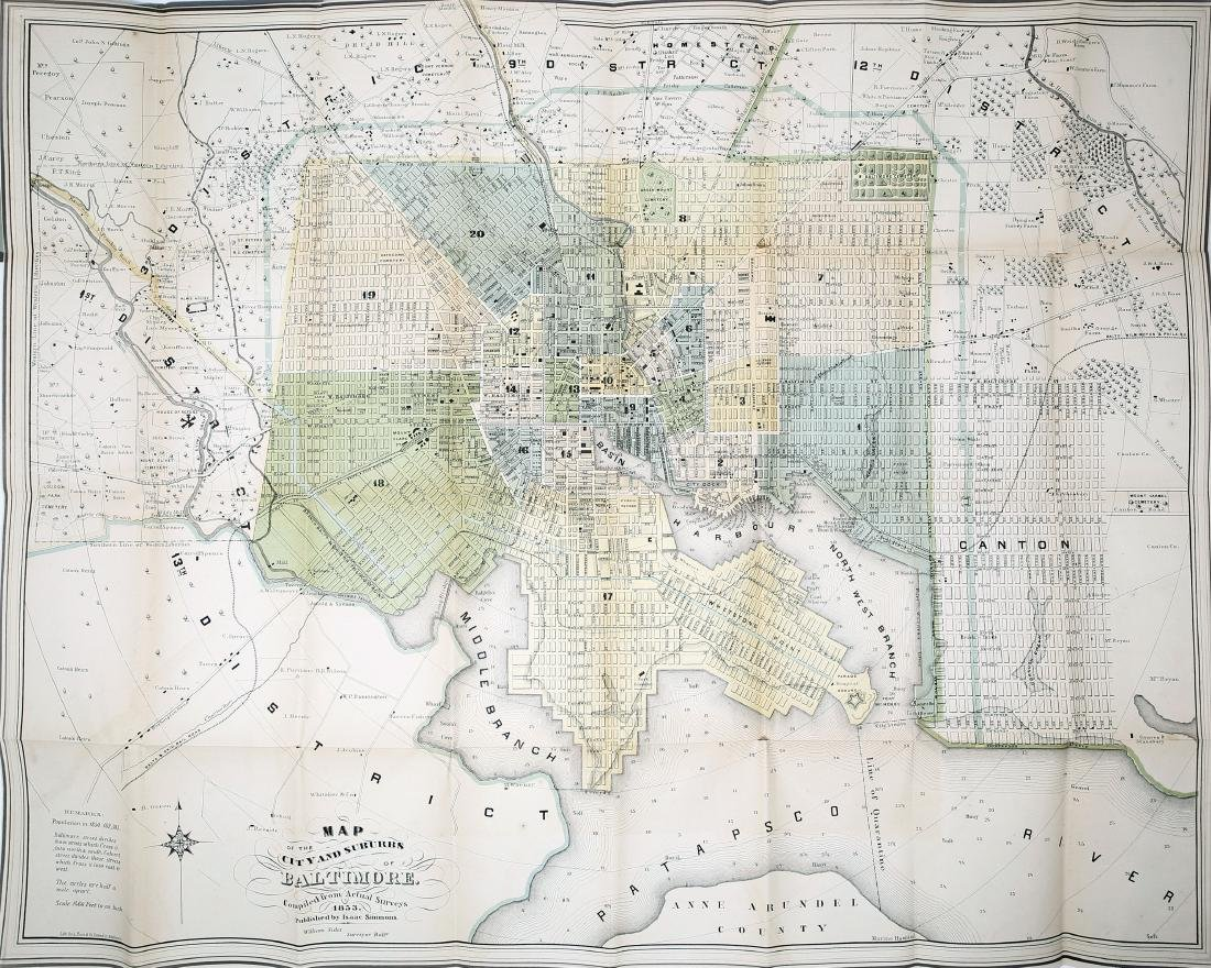 Simmons Map of Baltimore