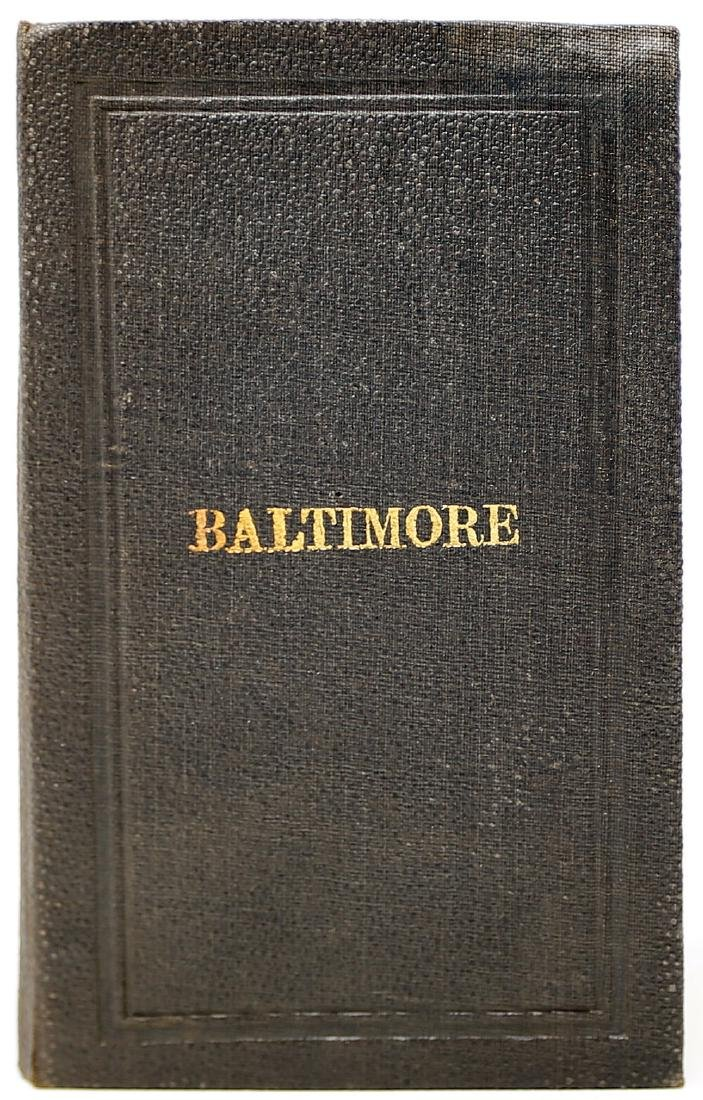 Simmons Map of Baltimore - 2