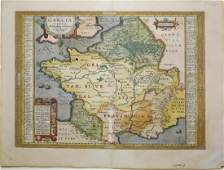Ortelius Map of France