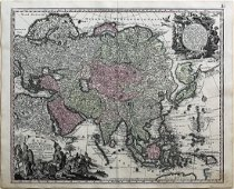 Seutter Map of Asia