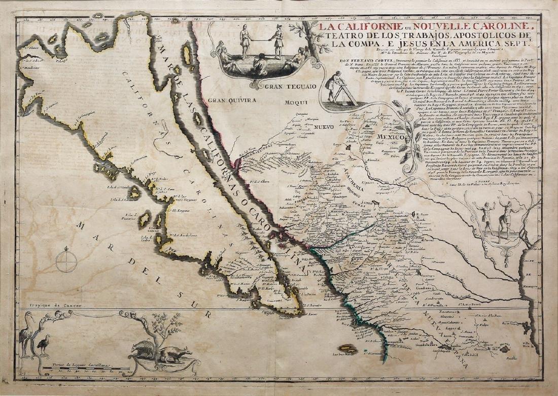 De Fer Map of California as an Island
