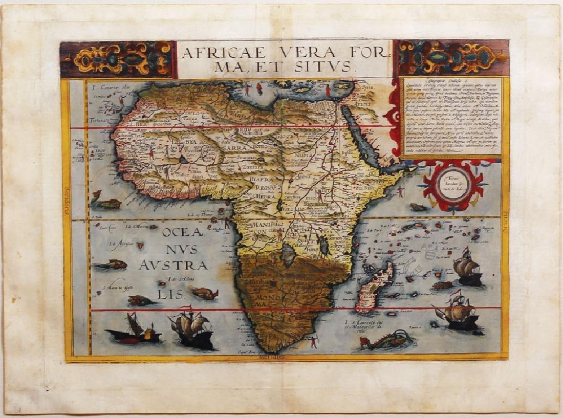 De Jode Map of Africa