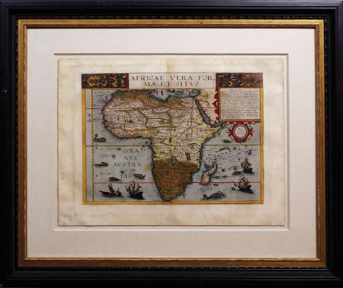 De Jode Map of Africa - 2